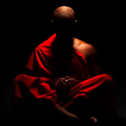 "When somebody asks a Zen monk what do you do in meditation, he replies,  ""I do nothing. I just sit empty and that's all I do."""